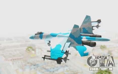 SU-37 American Ornament para GTA San Andreas esquerda vista