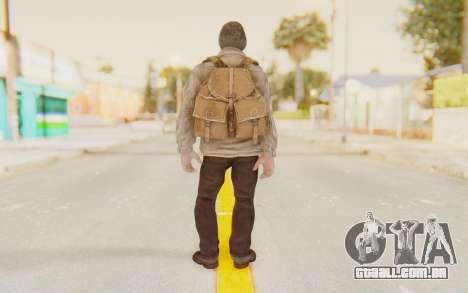 COD BO Russian Soldier v1 para GTA San Andreas terceira tela