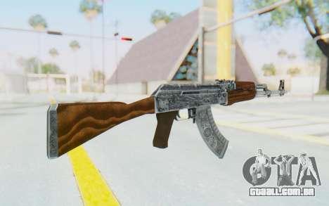 CS:GO - AK-47 Cartel para GTA San Andreas segunda tela