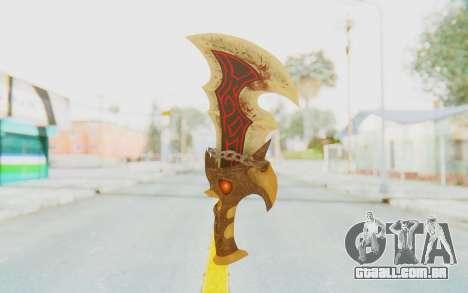 Blade of Athena para GTA San Andreas