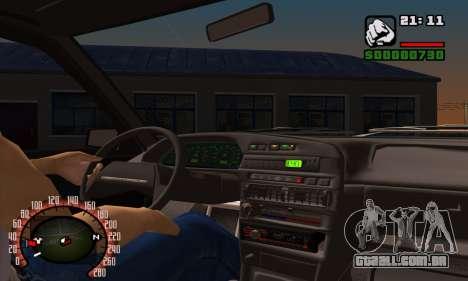 2109 para as rodas de GTA San Andreas