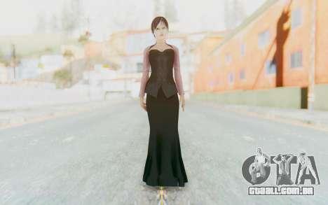 Linda Meilinda Kebaya Dark para GTA San Andreas segunda tela