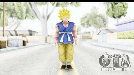 Dragon Ball Xenoverse Goku GT Adult SSJ1 para GTA San Andreas segunda tela