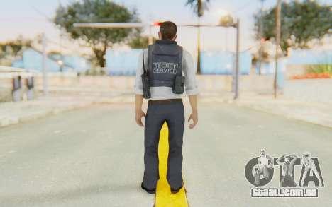 CoD MW2 Secret Service para GTA San Andreas terceira tela