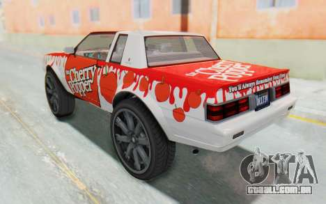 GTA 5 Willard Faction Custom Donk v2 IVF para as rodas de GTA San Andreas