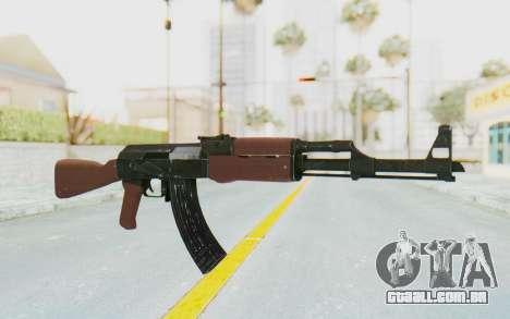 Assault AK-47 para GTA San Andreas