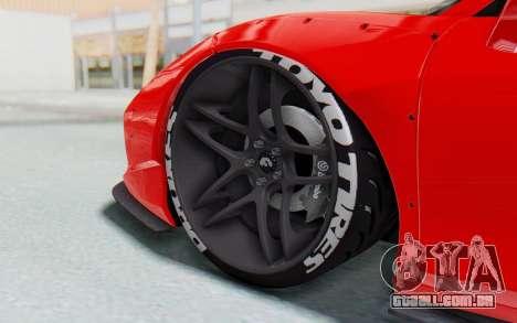 Ferrari 458 Liberty Walk para GTA San Andreas vista inferior