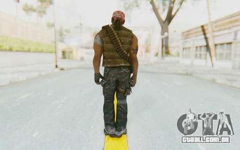 CoD BO DLC Danny Trejo para GTA San Andreas terceira tela