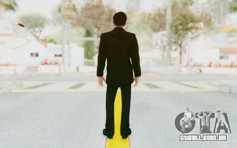Mafia 2 - Vito Scaletta Tuxedo para GTA San Andreas terceira tela