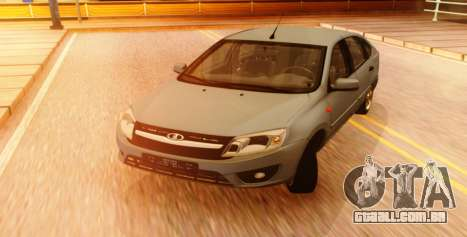 Lada Granta Liftback Beta v1 para GTA San Andreas