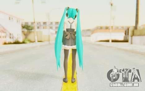 MMD Hatsune Miku para GTA San Andreas terceira tela