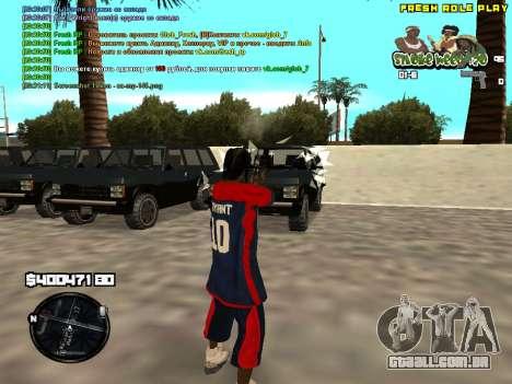 C-HUD Smoke Weed 420 para GTA San Andreas segunda tela