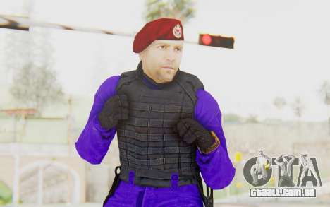 Bahrain Officer para GTA San Andreas