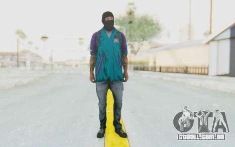 Robbery Skin para GTA San Andreas segunda tela