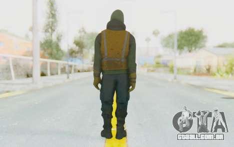 The Division Cleaners - Shield para GTA San Andreas terceira tela