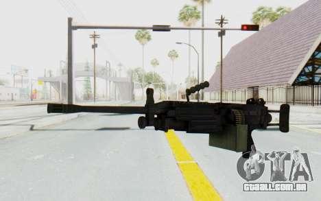 FN Minimi M249 Para para GTA San Andreas segunda tela