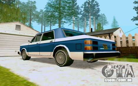 Bobcat Sedan para GTA San Andreas vista direita