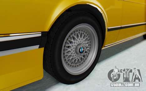 BMW M635 CSi (E24) 1984 HQLM PJ2 para GTA San Andreas vista traseira