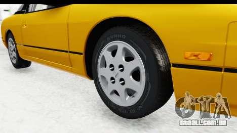 Nissan 240SX 1994 v1 para GTA San Andreas vista traseira