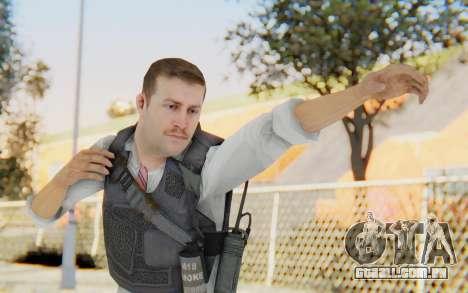 CoD MW2 Secret Service para GTA San Andreas