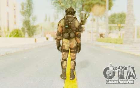 Federation Elite Assault Woodland-Flora para GTA San Andreas terceira tela