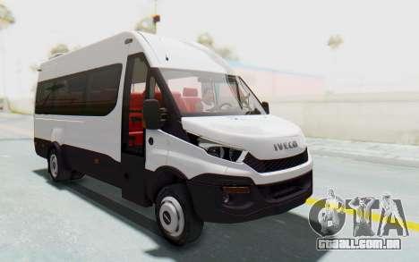 Iveco Daily Minibus 2015 para GTA San Andreas vista direita