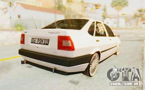 Fiat Tempra Special TR para GTA San Andreas esquerda vista