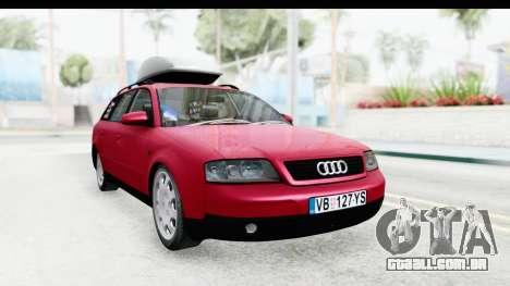 Audi A6 C5 Avant Sommerzeit para GTA San Andreas