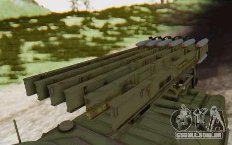 MGSV Phantom Pain ZHUK APC Tank para GTA San Andreas vista direita