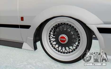 GTA 5 Futo Drift para GTA San Andreas vista traseira