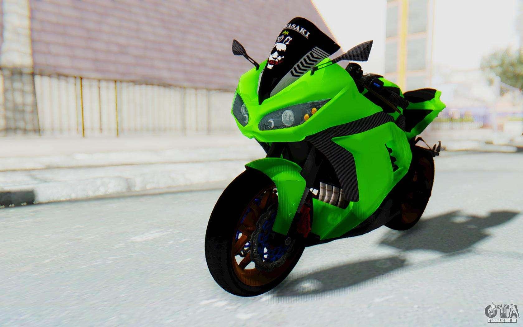 Kawasaki Ninja Abs For Sa E