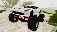 Dodge Viper SRT GTS 2012 Monster Truck