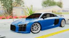 Audi R8 V10 Plus 2017 para GTA San Andreas