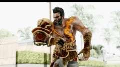 God of War 3 - Deimos para GTA San Andreas