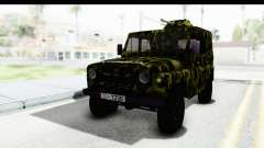 UAZ-469 polícia Militar da Sérvia para GTA San Andreas