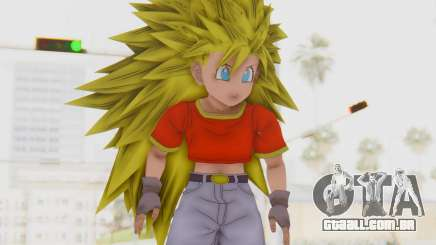 Dragon Ball Xenoverse Pan SSJ3 para GTA San Andreas