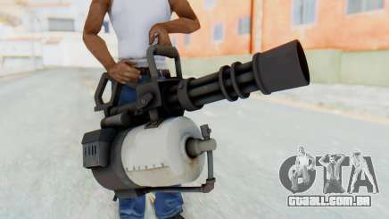 Minigun from TF2 para GTA San Andreas
