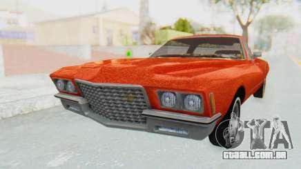 Buick Riviera 1972 Boattail Lowrider para GTA San Andreas
