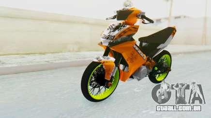Yamaha Jupiter MX 135 Roadrace para GTA San Andreas