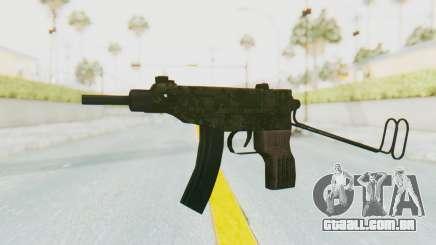VZ-61 Skorpion Unfold Stock Green Flecktarn Camo para GTA San Andreas