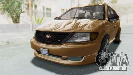 GTA 5 Vapid Minivan para GTA San Andreas