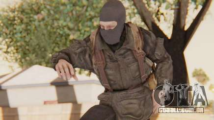 COD BO Russian Soldier Balaclava para GTA San Andreas