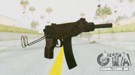VZ-61 Skorpion Unfold Stock Russian Gorka Camo para GTA San Andreas