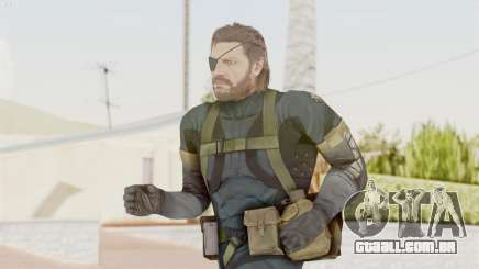 MGSV Phantom Pain Big Boss SV Sneaking Suit v2 para GTA San Andreas