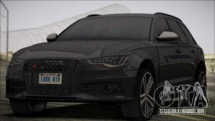 Audi S6 para GTA San Andreas