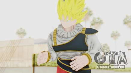 Dragon Ball Xenoverse Goku Yardrat Clothes SSJ para GTA San Andreas