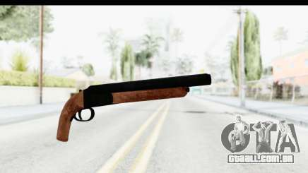 GTA 5 Double Barrel Sawn-Off para GTA San Andreas