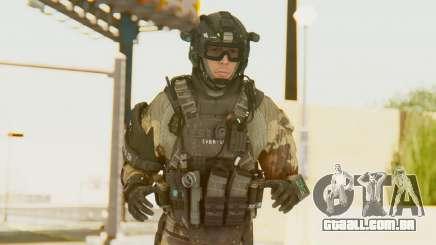 Federation Elite Assault Woodland-Flora para GTA San Andreas