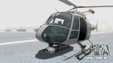GTA 5 News Chopper Style Weazel News para GTA San Andreas