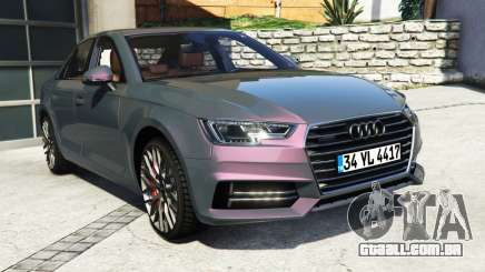 Audi A4 2017 [add-on] v1.1 para GTA 5